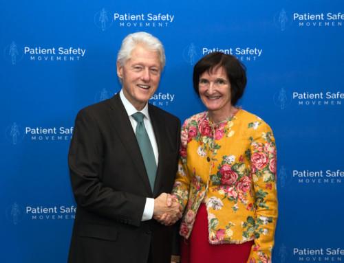 Først ute er anestesilege  Jannicke Mellin-Olsen President of WFSA